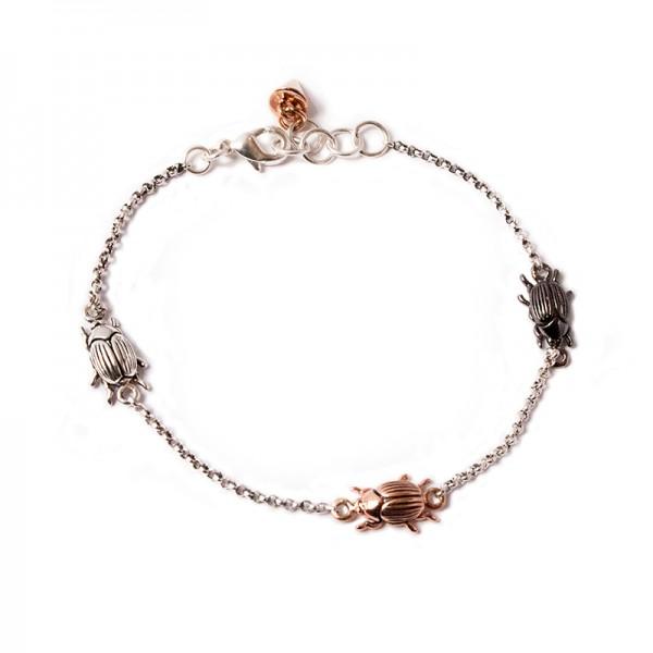 silverbugbracelet