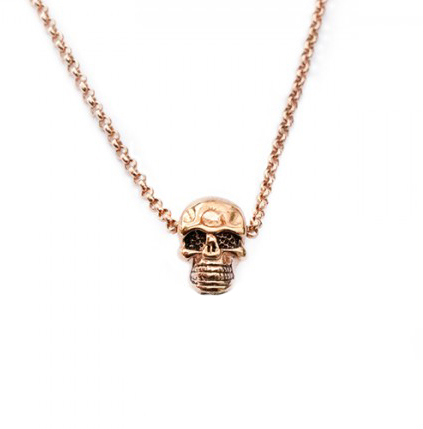 Rose-skull necklace-jpg