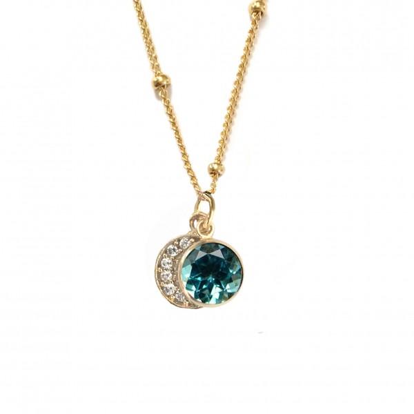 blue topaz moon Mystic stones Elkin SVS 2