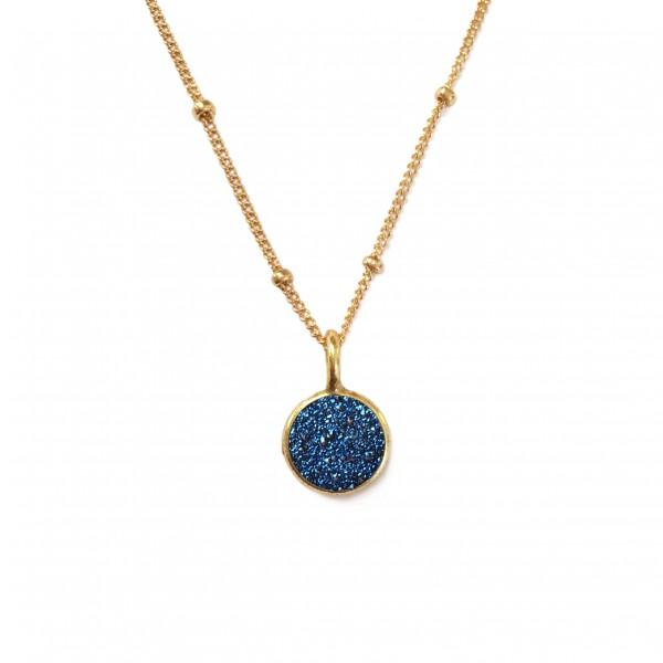 mystic stones blue druzy